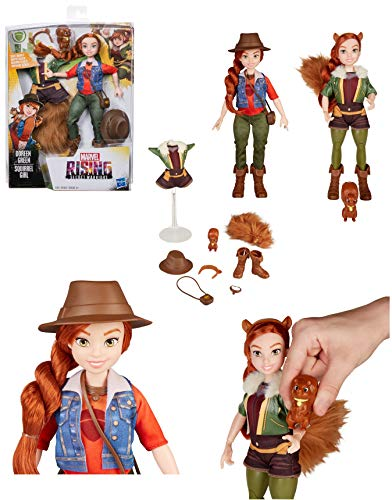 EXCLUSIVE Marvel Rising Secret Warriors - Doreen Green (Squirrel Girl) Secret Identity Doll (Target Exclusive) - Inspired by Marvel Rising Secret Warriors