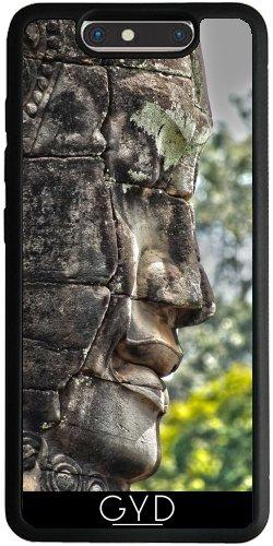 Funda Silicona para ZTE Blade V8 - Cabeza Tallada Angkor Camboya by Brian Raggatt