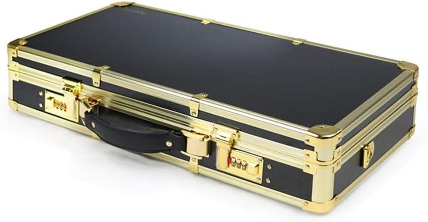 Maleta para Maquillaje, Midea Empuje la caja de herramientas de aleación de aluminio de aceite Jefe