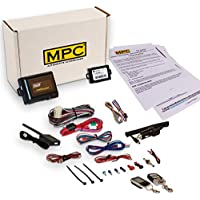 Complete 2-Way LCD Remote Start Kit with Keyless Entry For 1999-2004 Jeep Grand Cherokee - Includes Bypass and Firmware