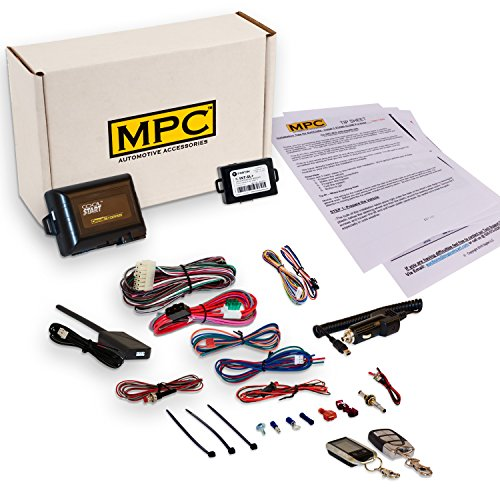 MPC Complete 2-Way LCD FM Remote Start Kit and Keyless Entry for 2004-2007 Dodge Grand Caravan - Firmware Preloaded