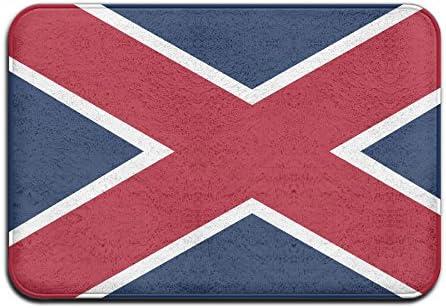Casa Felpudo felpudos Alabama Estado Bandera al Aire Libre Mats - Felpudo de Entrada (Floor Mat: Amazon.es: Jardín
