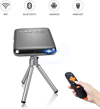 OTHA Android Smart Mini Proyector DLP Portátil WiFi Proyectores ...