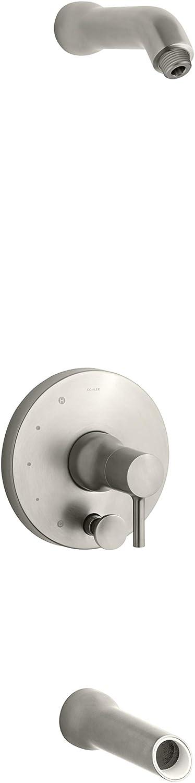 KOHLER T8975-4L-BN Toobi Bath and shower trim set Vibrant Brushed Nickel