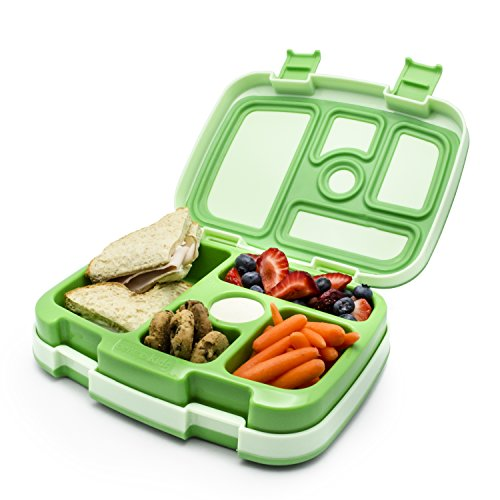 bentgo kids leakproof children s lunch box green buy online in uae kitchen products in. Black Bedroom Furniture Sets. Home Design Ideas