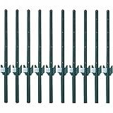 MTB Sturdy Duty Fence Post U Post 3 Feet, Pack of 10