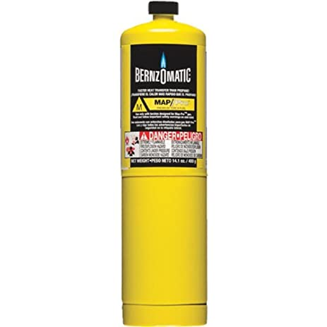 WORTHINGTON CYLINDER Oz PreFilled MAPPro Gas Torch - Gas map