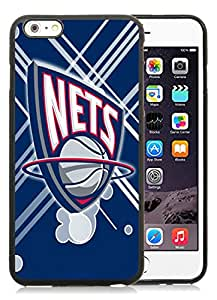 Unique Custom Designed Cover Case For iPhone 6 Plus 5.5 Inch With Brooklyn nets 12 Black Phone Case