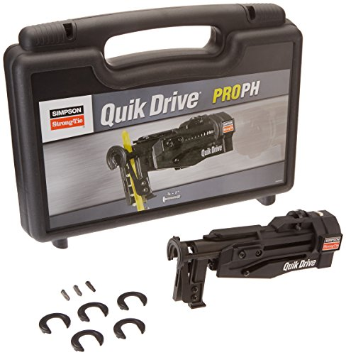 Quik Drive Auto (Simpson Strong Tie QDPROPHG2 Quik Drive Cold-Formed Steel Framing Attachment for PROPH)