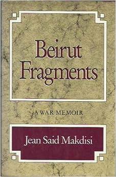 Book Beirut Fragments: A War Memoir