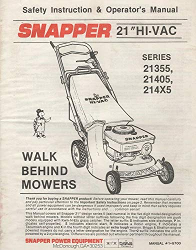 (1988 SNAPPER 21