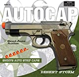 Big Game Toys~Beretta 92 Military M9 semi Automatic Pistol Toy Cap Gun