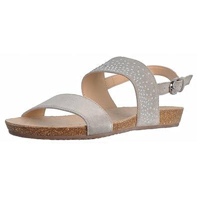 Geox Damen Sandalen, Farbe Grau, Marke, Modell Damen