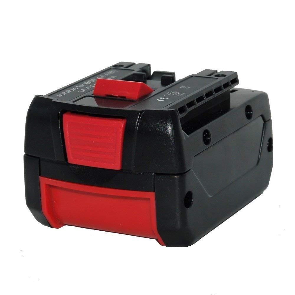 14.4V 4.0Ah Li-Ion Battery For Bosch Power Tools GSR14.4V-LI BAT614 BAT607