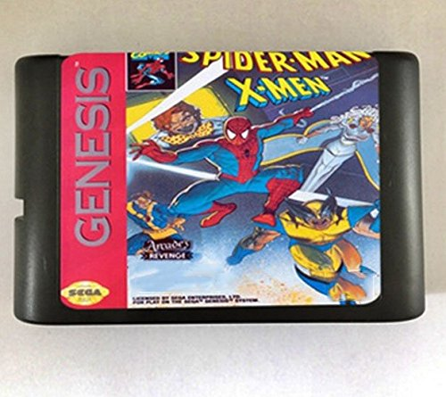 Taka Co 16 Bit Sega MD Game Spider Man VS. The X Man Game Cartridge Newest 16 bit Game Card For Sega Mega Drive / Genesis System