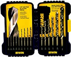 Best drill bits for hardened steel reviews 2018 tool and go irwin industrial tools 316015 cobalt drill bit set 15 piece greentooth Images