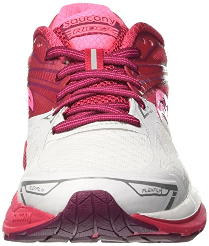 outlet exclusive Saucony Women's Ride 9 Running Shoes Red (White/Pink/Berry 6) from china hOZKGM