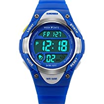 Kids Watch Sport Digital LED Multifunction Watches for Child 50M Waterproof Alarm Quartz Wrist Watch forBoys