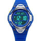 Kids Watch Sport Digital LED Multifunction Watches for Child 50M Waterproof Alarm Quartz
