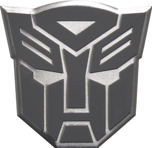 Transformers Autobots Aluminum Gray Grey Silver Large