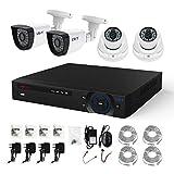 FREECAM 4CH CCTV System 720P HDMI AHD CCTV DVR 4PCS 1.0 MP IR Outdoor Home Security Camera 1200 TVL Camera Surveillance Kit