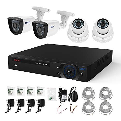 FREECAM 4CH CCTV System 720P HDMI AHD CCTV DVR 4PCS 1.0 MP IR Outdoor Home Security Camera 1200 TVL Camera Surveillance Kit by Freecam (Image #7)