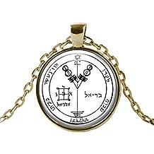 Jupiter 4 Solomon Seal Wealth and Honor B&W Gold Talisman