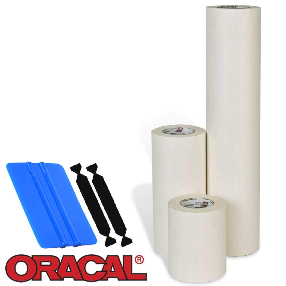 Oracal High Tack Transfer Tape (8'' x 300ft w/Tools)