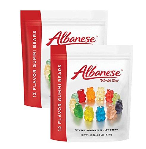 Albanese Gummy Bears 12 Flavor