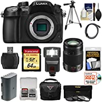 Panasonic Lumix DMC-GH4 4K Micro Four Thirds Digital Camera Body with 35-100mm f/2.8 Lens + 64GB Card + Battery + Case + Tripod + Flash + Filters Kit At A Glance Review Image