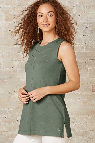 Fair Indigo Fair Trade Organic Sleeveless Chevron Tunic