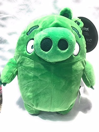 Angry Birds Green Pig Plush Doll 9x10