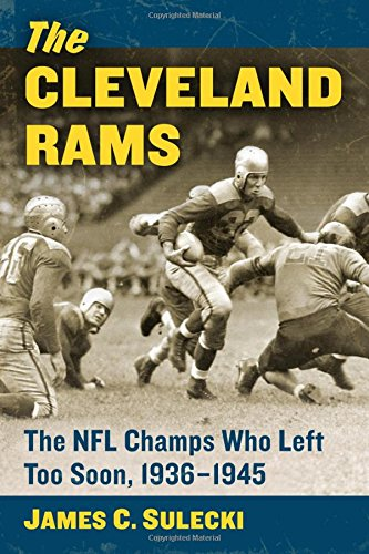 Louis Rams Uniform - The Cleveland Rams: The NFL Champs Who Left Too Soon, 1936-1945