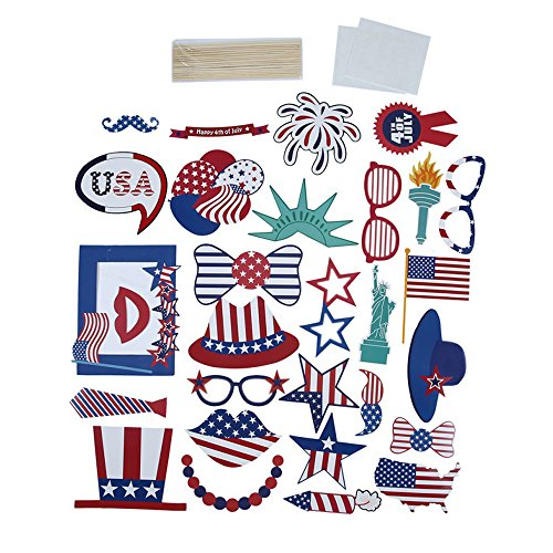American Independence Day Theme Photo Props Wedding/Birthday Party/Holiday/Anniversary Decoration Photo Props ()