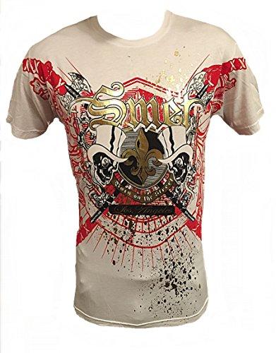 (Smet by Christian Audigier Sever Mens T shirt (Large,)