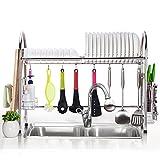 304 stainless steel bowl rack / sink drain rack / kitchen rack / single layer plate rack
