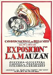 Amazon.com: Exposicion LA Mauzan Vintage Poster (artist ...