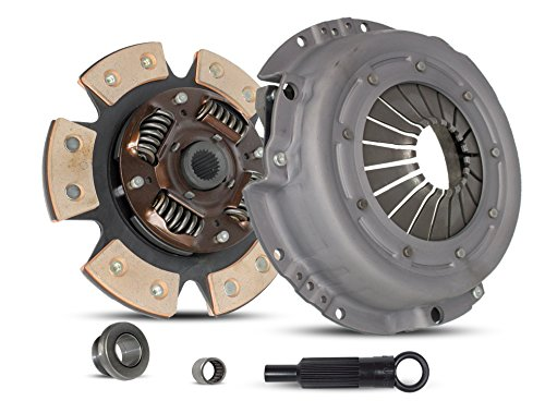 Clutch Kit Works With Ford Bronco II Ranger Xlt Xls Eddie 1983-1984 2.2L L4 DIESEL OHV 2.3L L4 GAS SOHC 2.8L V6 GAS OHV Naturally Aspirated (6-Puck Clutch Disc Stage 2; Disc Spec: 8-7/8