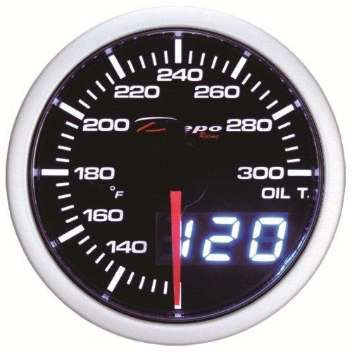 Digital Racing (Depo Racing 52mm Digital LED Oil Temperature Gauge)
