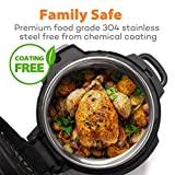 Nenazzz Replacement Stainless Steel Inner cooking