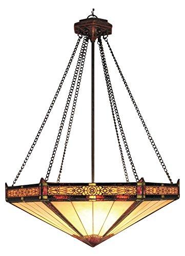 Filigree 3 Light LED Pendant in Aged Bronze