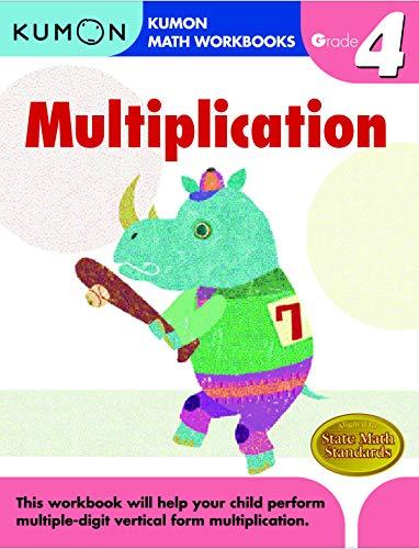 Grade 4 Multiplication (Kumon Math Workbooks) (Kumon Math Grade 3)