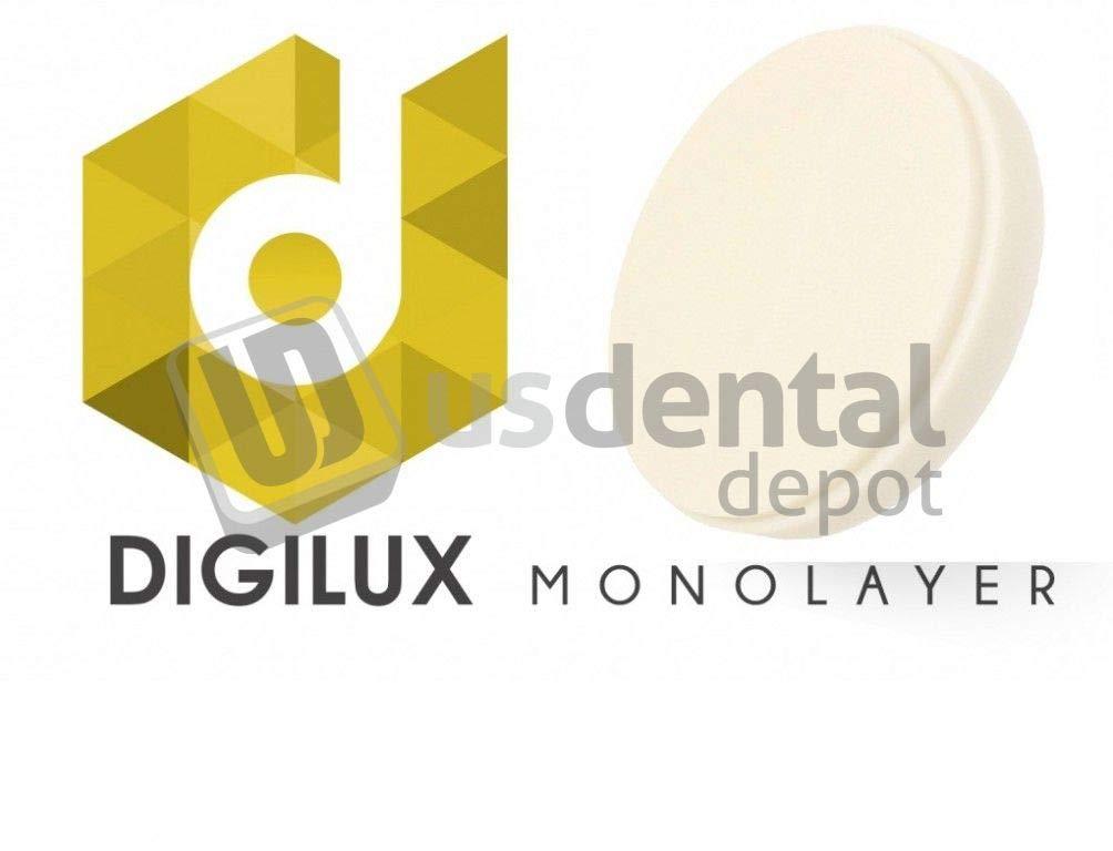 DIGILUX - PMMA Mono 98.5mm (98mm) x 16mm Color : A3.5 - [ Digitech- monocapa Mono ] 124153