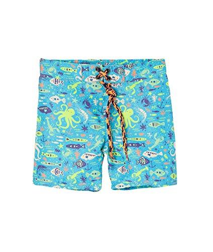 OFFCORSS Baby Boy Swimming Short Trunks Bathing Suit Summer Beach Month Clothing UV Protection Trajes de Baño de Verano Para Bebe Varon Yellow 6/9M