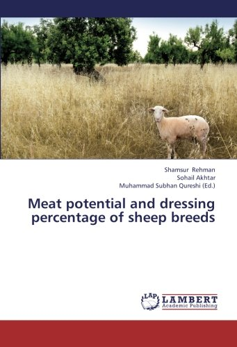 Meat potential and dressing percentage of sheep breeds ()