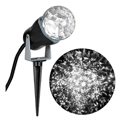 Gemmy 35074 Lightshow Projection-Kaleidoscope White - Indoor and Outdoor- 2 Pack