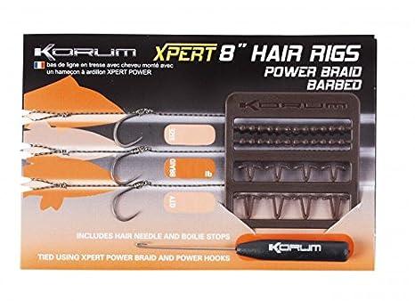 0.25mm dia Guru 4 Method Hair Rigs Size 10 to 12lb