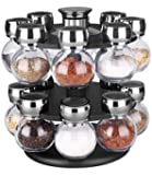 Home Basics 16 Piece Revolving Spice Rack