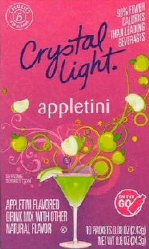 Crystal Light - On the Go Mocktails (Appletini)