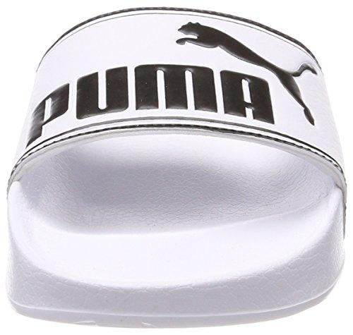 – Scarpe Black Bianco E White puma Da Puma Unisex Leadcat Spiaggia puma Adulto Piscina CxnZZ5